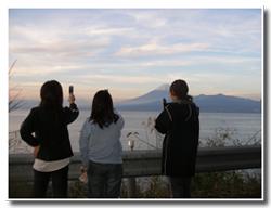富士山撮影中