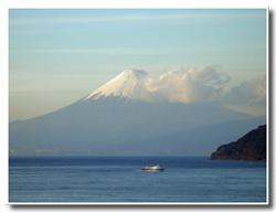 富士山と駿河湾フェリー