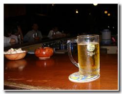 ハッピーアワーでタイガービール
