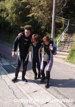 津波避難訓練