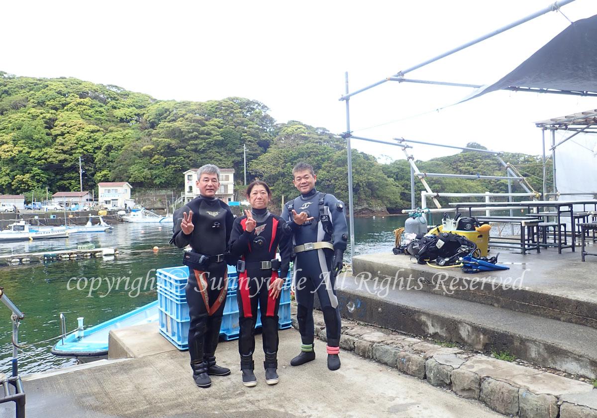 令和初ダイビングは、田子でお魚いっぱい\(^o^)/