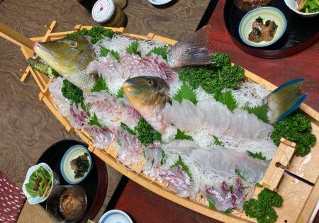 田子で美味しい晩ごはん