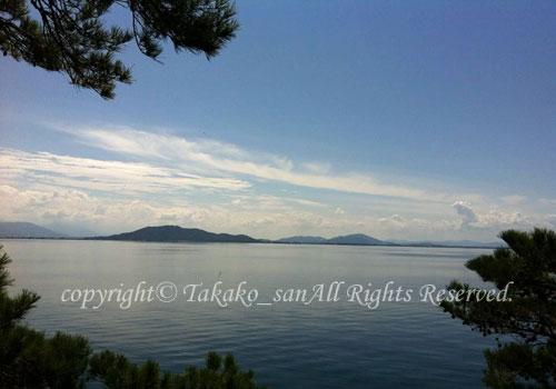 「多景島」 たかこさん撮影