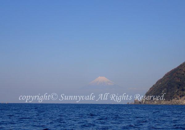 富士山バッチリ