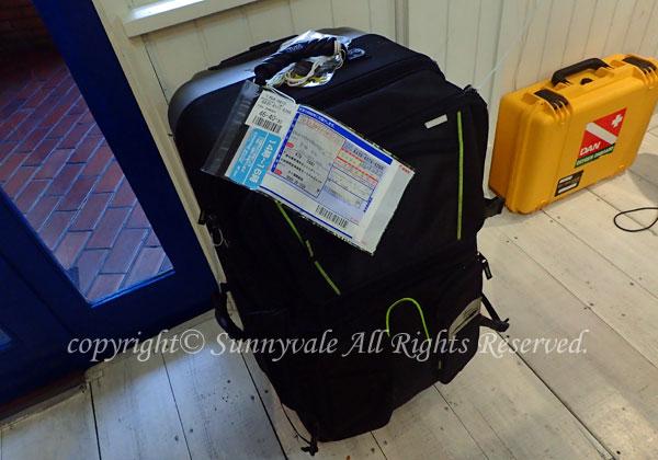インド旅行した荷物