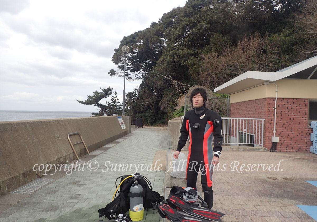 今シーズン初日本海、Newダイバーも誕生(^O^)/