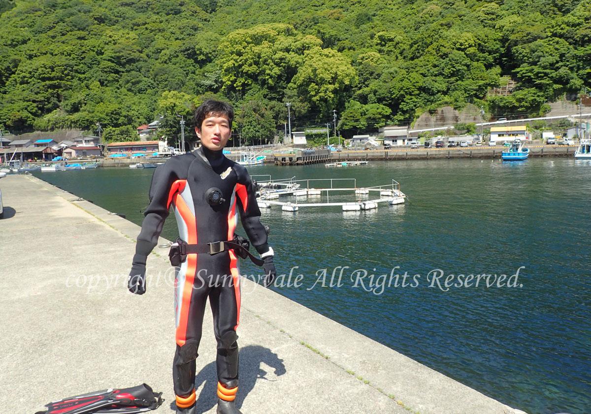 いい天気、ダイビング日和です(^^♪