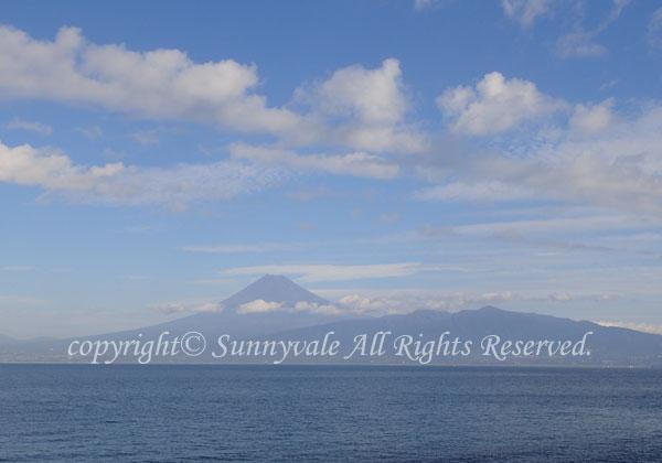 富士山クッキリ