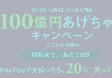 100億円あげちゃうキャンペーンって\(◎o◎)/!